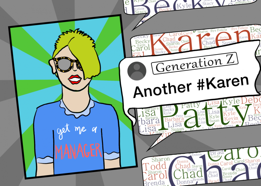 The Karen meme and similar names have become commonplace on many social media sites.
