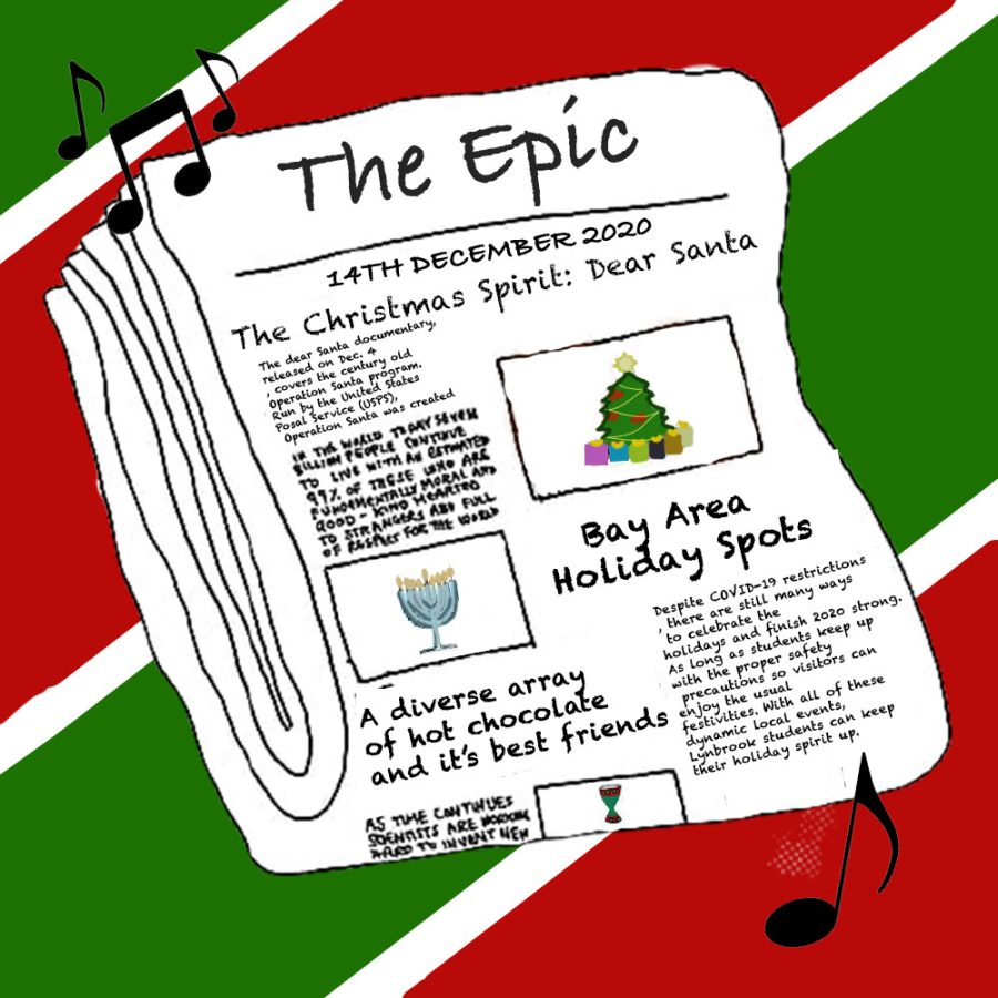 the Epic's holiday season tunes