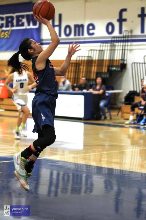 Senior Maison Yee, who has been playing basketball for 10 years, has committed to women's basketball at Pomona-Pitzer.