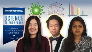 Seniors Claire Tang and Eshani Jha were named Regeneron STS finalists, with senior David Hu closely following as a semifinalist.