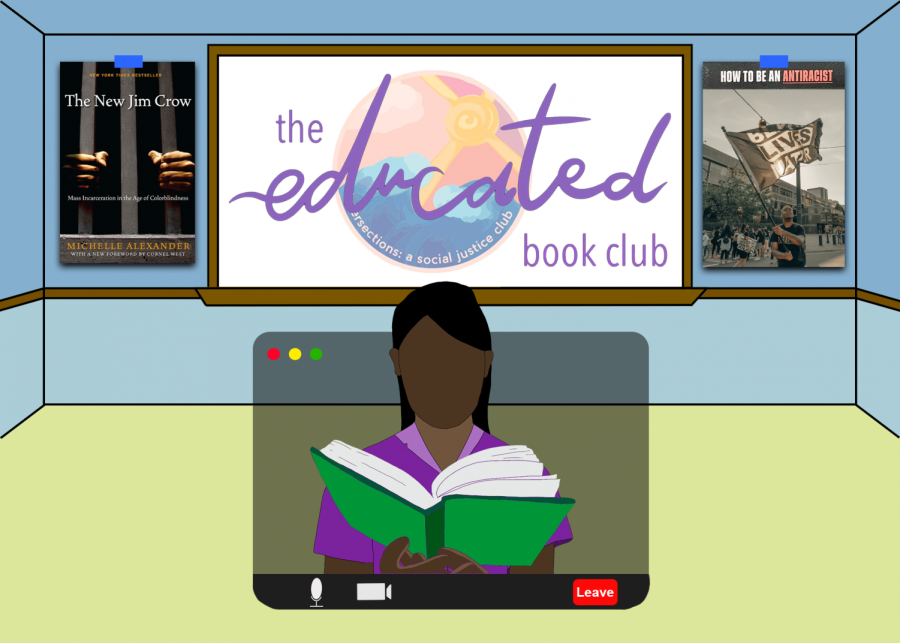 The Educated Book Club discusses Black media to raise awareness about racial issues and educate its members about the Black community.