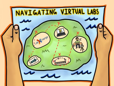 Science teachers navigating virtual learning this year have had to come up with new ways to conduct labs.