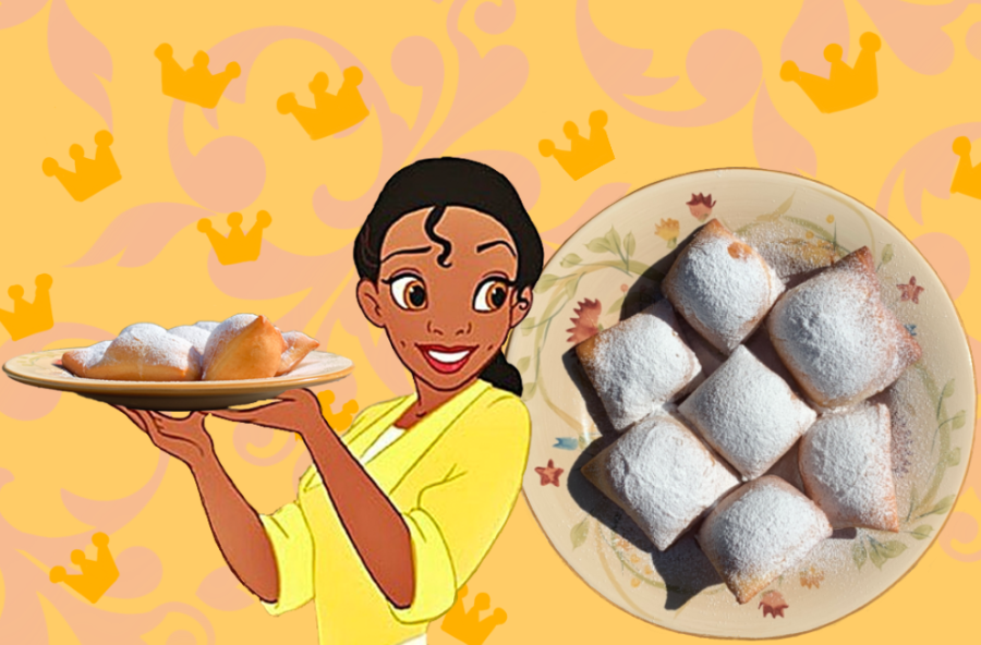 I chose to make beignets, Tiana