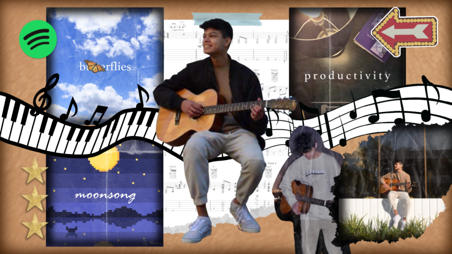 A gifted multi-instrumentalist, Junior Ty Hosein has recently channeled his musical talent into songwriting.
