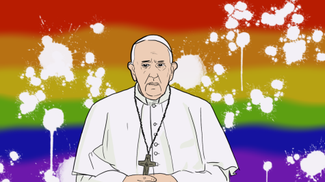 Pope Francis has suddenly changed his views on LGBTQ rights this year.