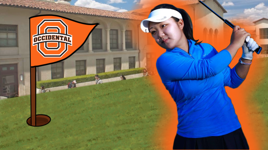 Joomi Park looks forward to playing Division III golf at Occidental College.