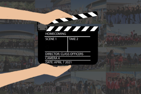 On April 7, the Homecoming Highlights Reel was released after all Homecoming activities were canceled. (Graphic Illustration by Audrey Wong.)