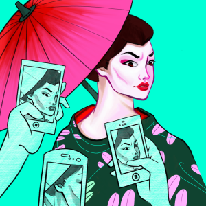From legislation to dating preferences and media portrayals, Asian women have been stereotyped and objectified in what is known as the Asian Fetish. (Graphic Illustration by Christy Yu.)
