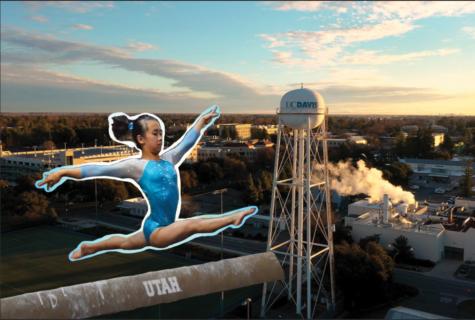 Samantha Wu is excited to compete with U.C. Davis Division 1 gymnastics team.