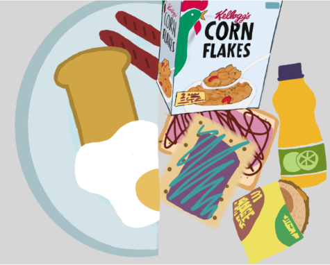 From a sit down home cooked meal to convenient packaged pastries, breakfast items evolve to fit our lifestyle.