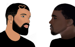 Drake and Kanyes long rivalry has come into picture with the releases of Certified Lover Boy and Donda. (Graphic Illustration by Anushka Anand)