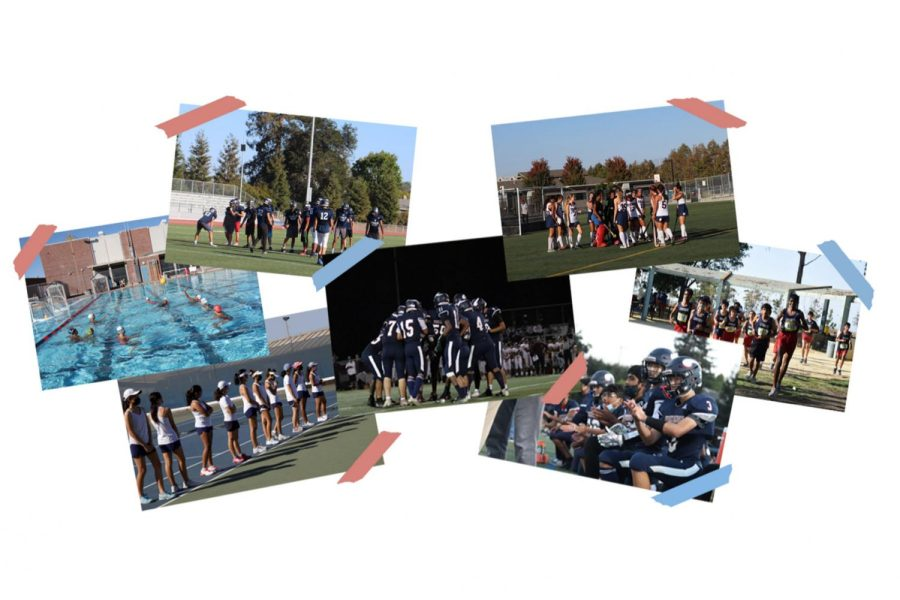 Fall+sports+have+shown+high+levels+of+team+bonding.+%28Photos+by+Epic+Staff%29